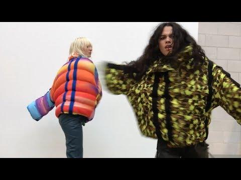 Aïzone Fall/Winter 2017 by Juergen Teller Starring Lili Sumner & Elena Azzaro