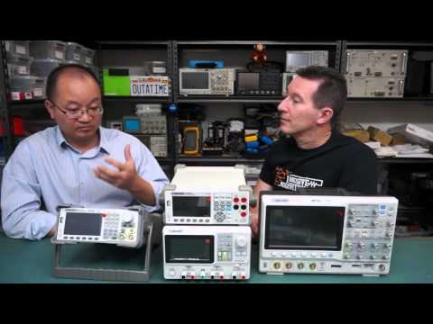 EEVblog #826 - Siglent CEO Eric Qin Visits The EEVblog Lab