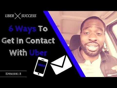 6 Ways How To Contact Uber