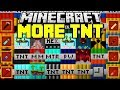 Minecraft MORE TNT MOD | NUKES, DYNAMITE, NEW TNTS, METEORS | Minecraft Mods