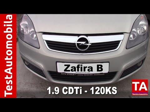 OPEL Zafira B 1.9CDTi 120KS Test MPV tenka - Видео с YouTube на компьютер, мобильный, android, ios