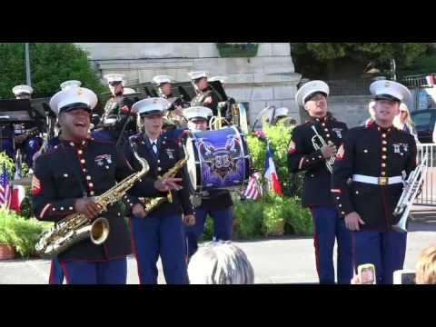 Concert Marine Division Band Chateau Thierry 2017