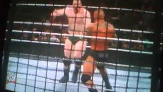 WWE elimination chamber 2011 raw elimination chamber part 1