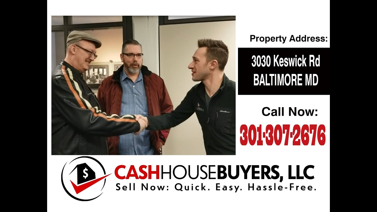 TESTIMONIAL We Buy Houses Baltimore MD | CALL 301-307-2676 | Sell Your House Fast Baltimore MD