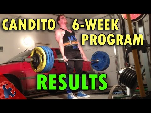 6 Week Workout Program for Strength and size