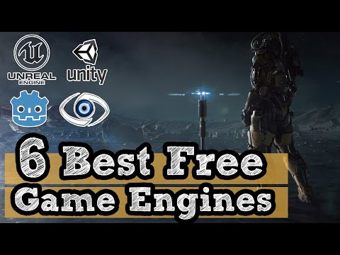 6 Best Free Game Engines