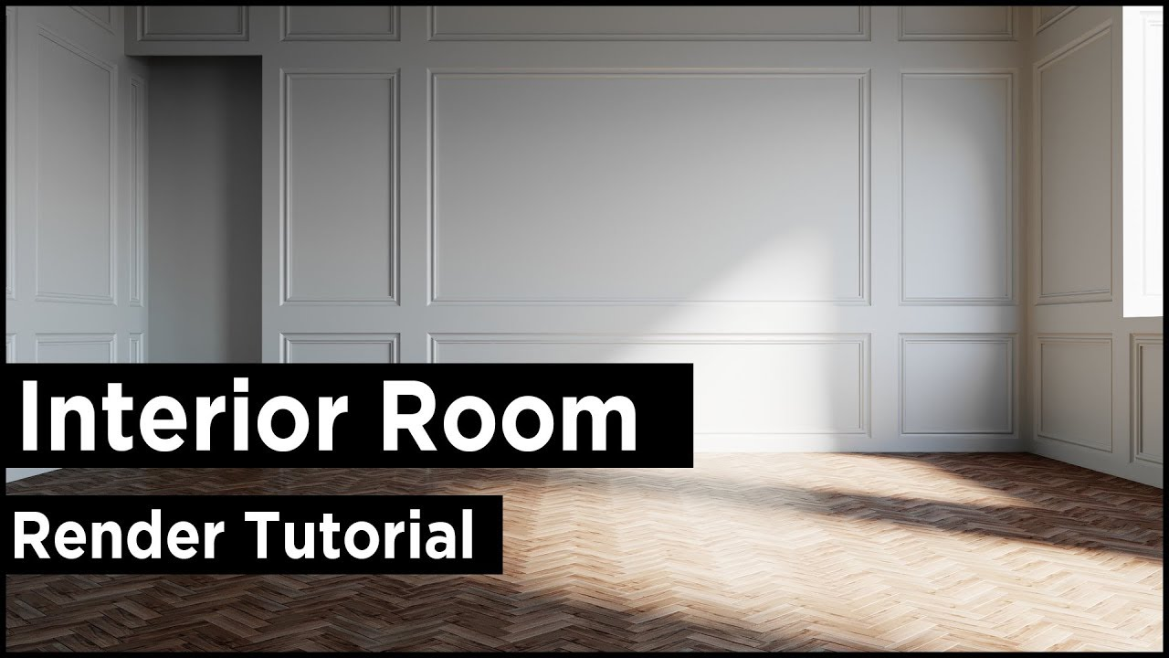 3ds Max Interior Room Design Best Tutorial Youtube