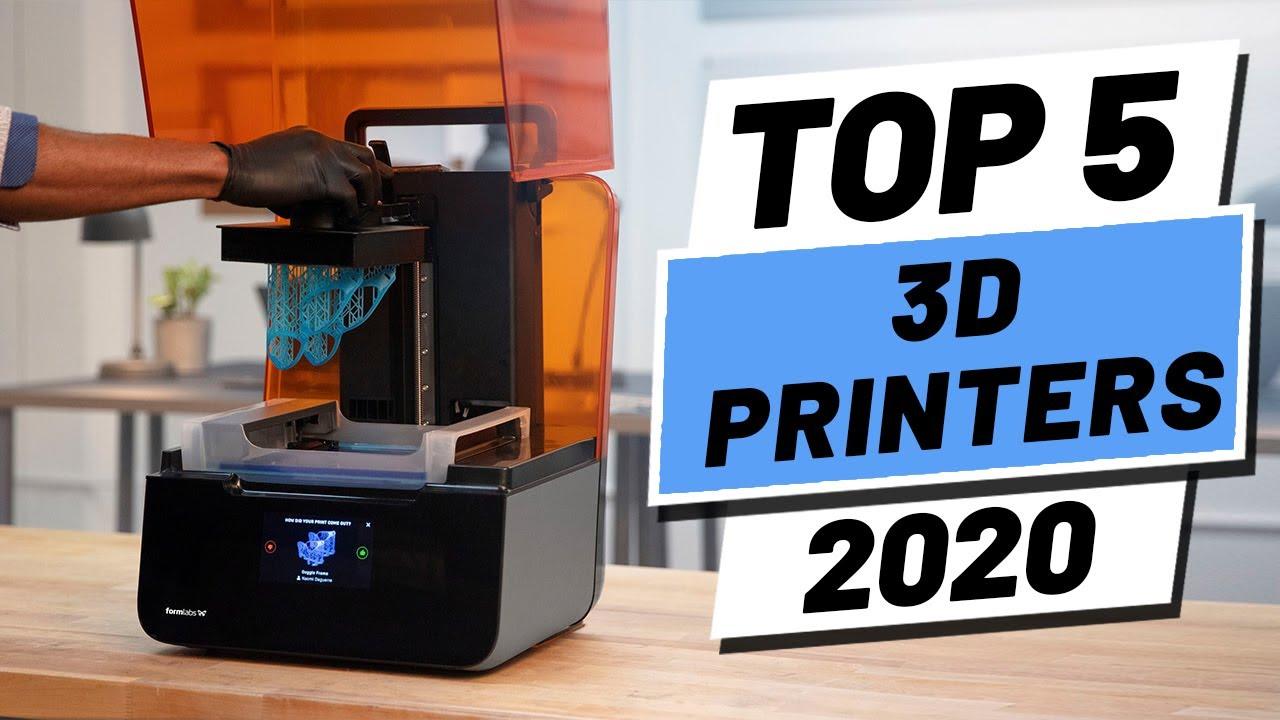 Top 5 Best 3D Printer In 2020