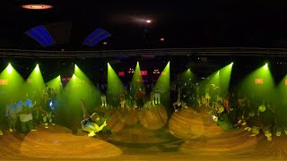 360° VR Video FEROCITY DANCE COMPANY Bachata Dance Performance At THE SALSA ROOM