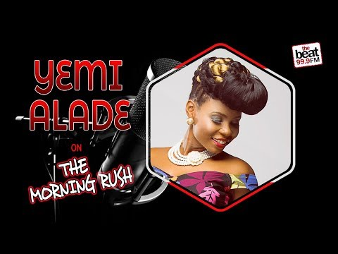 Superstar Yemi Alade on the Morning Rush