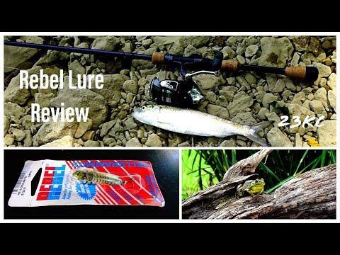 Rebel Hellgrammite Lure Review!