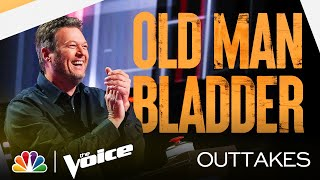 Nick's Notes and Blake's Bladder - The Voice Blind Auditions 2021 Outtakes