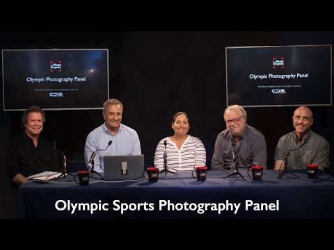 Olympic Sports Photography Panel