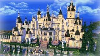 [심즈4 건축] 지붕 장식이 예쁜 저택 (배포) - Sims 4 Speed Build - A beautiful mansion with roof decoration - cc Link