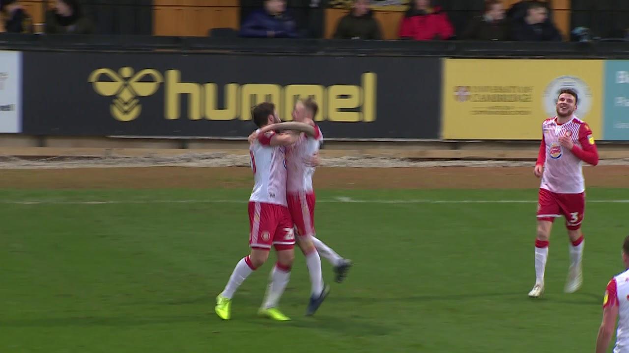 Кембридж Юнайтед  0-4  Стивенедж видео
