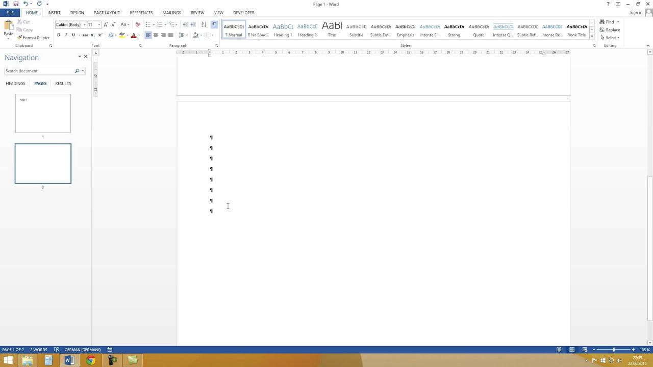 Word delete blank page easy tutorial hd youtube word delete blank page easy tutorial hd ccuart Images