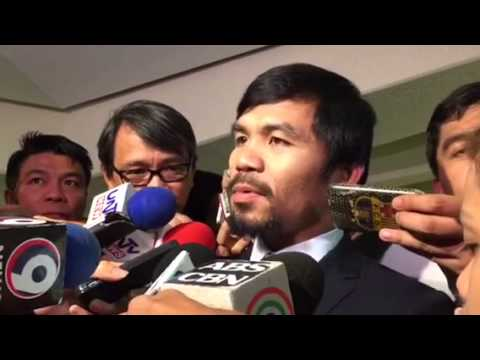 Sarangani Rep. Manny Pacquiao on proposed Bangsamoro Basic Law