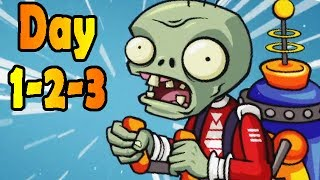 Plants vs. Zombies 2: Far Future Days 1-2-3!