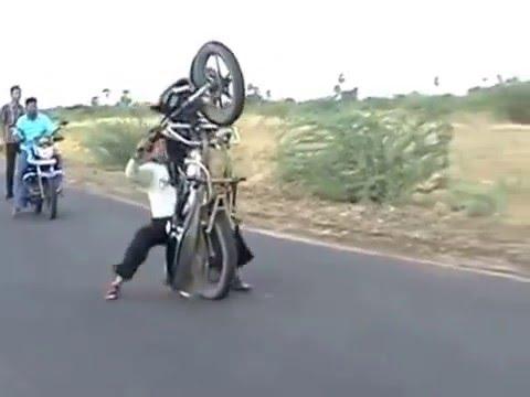 Funny Bike Wheeling Crash 2016 Funny Bike Accident 2016