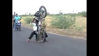 Funny Bike Wheeling Crash 2016 Funny Bike Accident 2016
