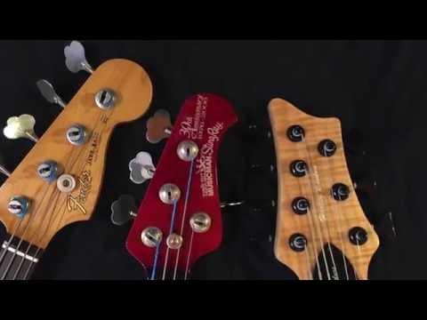 Harley Benton BZ 7000,Fender Jazz Road Worn,Musician Sting Ray 30th