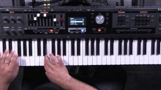 Roland V-Combo VR-09 Synth Section