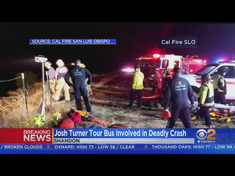 Tour Bus Carrying Country Singer Josh Turner's Crew Crashes, 1 Killed