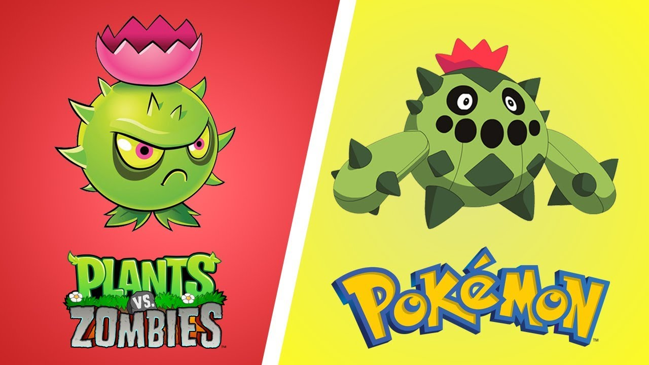 Plants Vs Zombies As Pokemon Characters In Real Life 2017