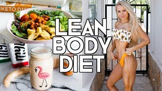 MY DIET TO STAY LEAN & TONED | Full Day Of Eating