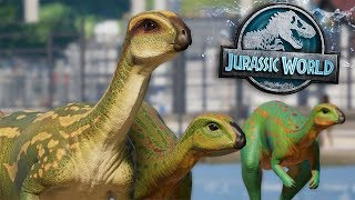 Dryosaurs all over the place! | Atlantis Park | Part 3 Jurassic World Evolution HD