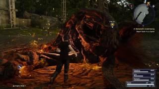 Final Fantasy XV playthrough pt22 - Flubbing Through the Behemoth (ugh, why?)