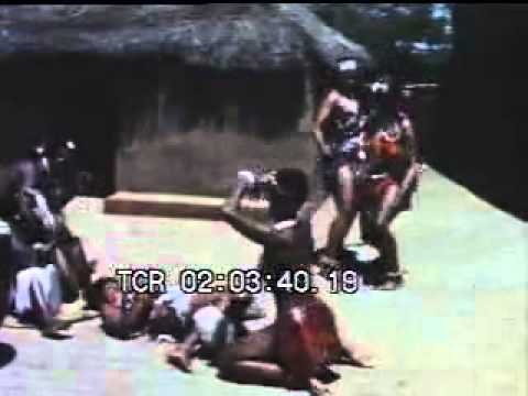 African booty dance naked