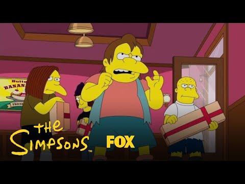 Nelson & His Crew Raid The Ice Cream Store | Season 29 Ep. 10 | THE SIMPSONS
