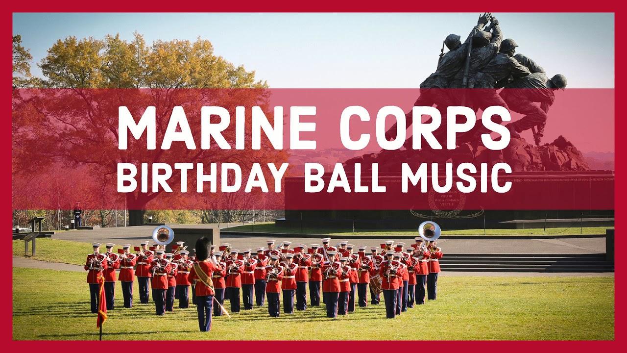 USMC BIRTHDAY BALL MUSIC - The Marines\' Hymn - U.S. Marine Band ...