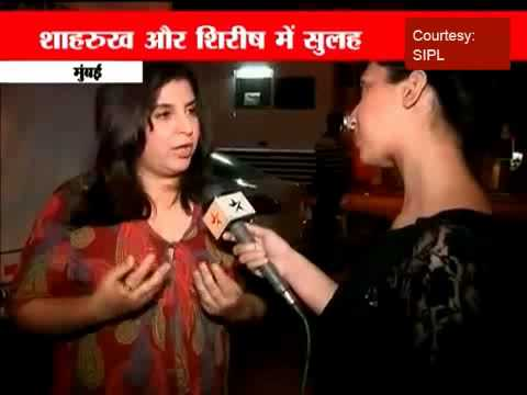 Farah Khan talks to STAR  over SRKKunder patch up