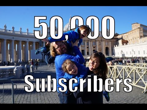 50,000 Subscribers, Thank You's & Great Travel News
