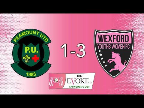 Evoke.ie FAI Women's Cup Semi Final: Peamount United 1-3 Wexford Youths - (AET)