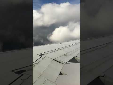 Landing at LaGuardia Airport in NYC