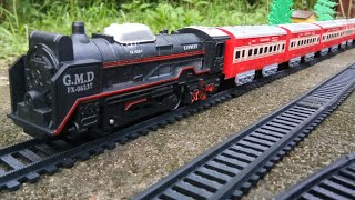 Rail King Train with Cargo Box and Passenger Coach by Centy Toys