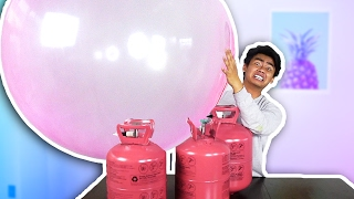 WUBBLE BUBBLE HELIUM EXPERIMENT! Video