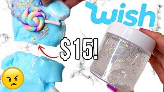 $15 WISH SLIME REVIEW! Is It Worth It?!