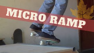 Micro Ramp Skating | Billythebanman