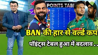T20 World Cup points table | Bangladesh vs Scotland match after points table | WC points table