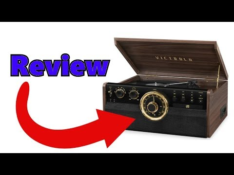 *ALL NEW* Victrola 6 in 1 Mid Century Turntable! *FIRST LOOK*
