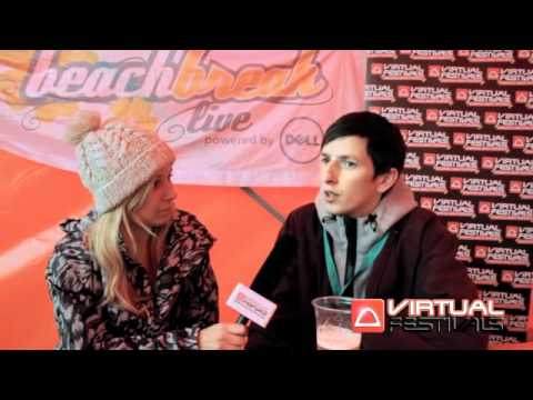 Totally Enormous Extinct Dinosaurs interview at Beach Break Live 2011 with Virtual Festivals