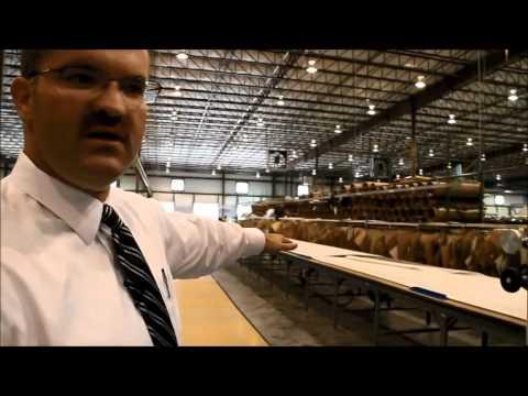 England Furniture Factory Tour Part 1