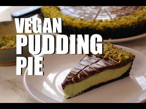 Vegan Hallowgreen Pudding Pie Recipe