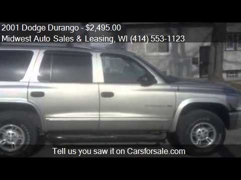 2001 Dodge Durango  for sale in Milwaukee, WI 53210 at the M