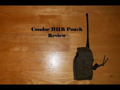 Condor HHR (handheld Radio) Pouch Review