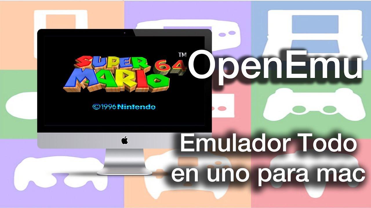Openemu Emulador Para Mac Para Juegos Antiguos Gratis Y En